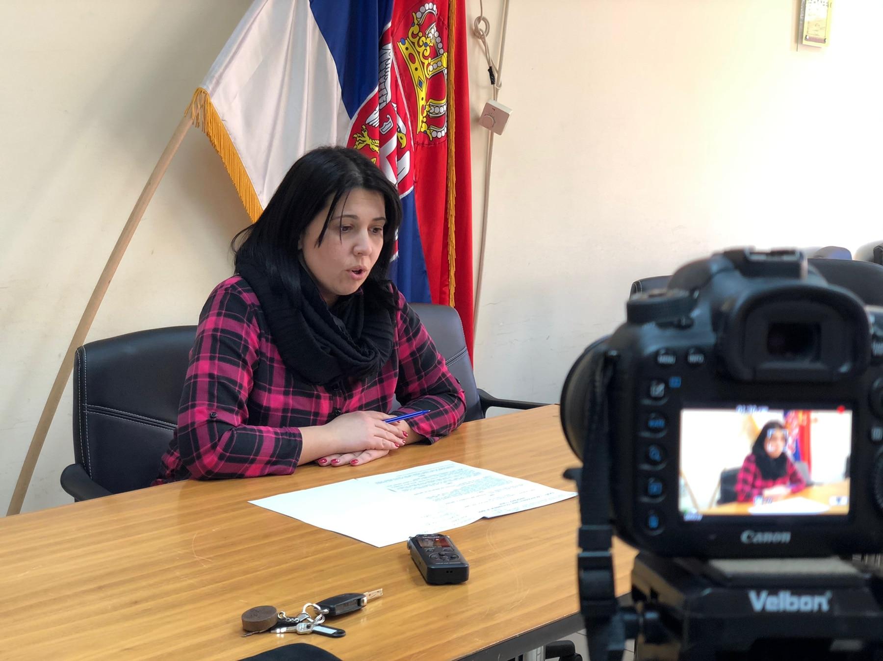 Predsednica opštine Jelena Trifunović, foto: M.M.