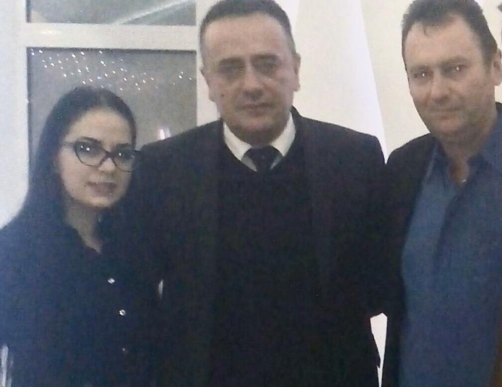 Savić, Antić i Marinković, foto: Jedinstvena Srbija Svrljig