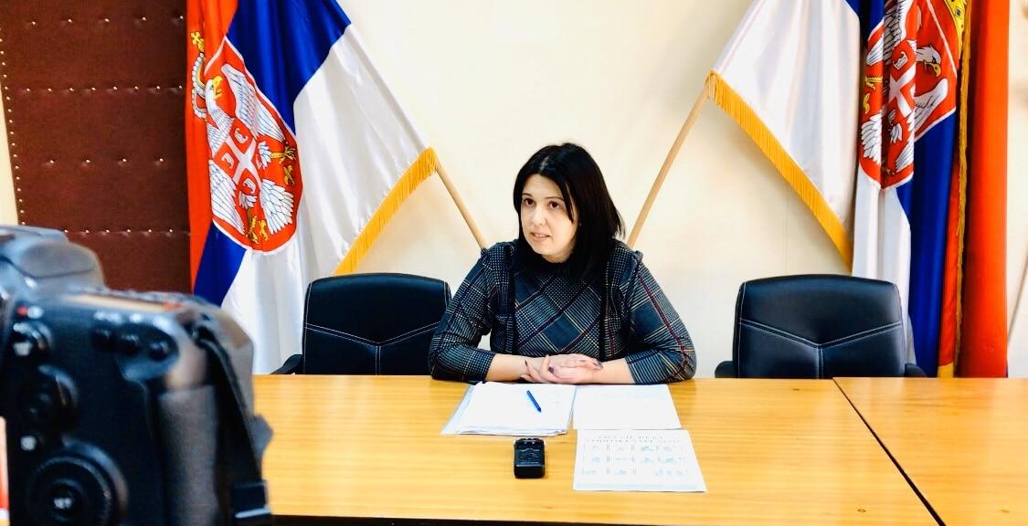 Jelena Trifunović, konferencija za novinare, foto: M.M.