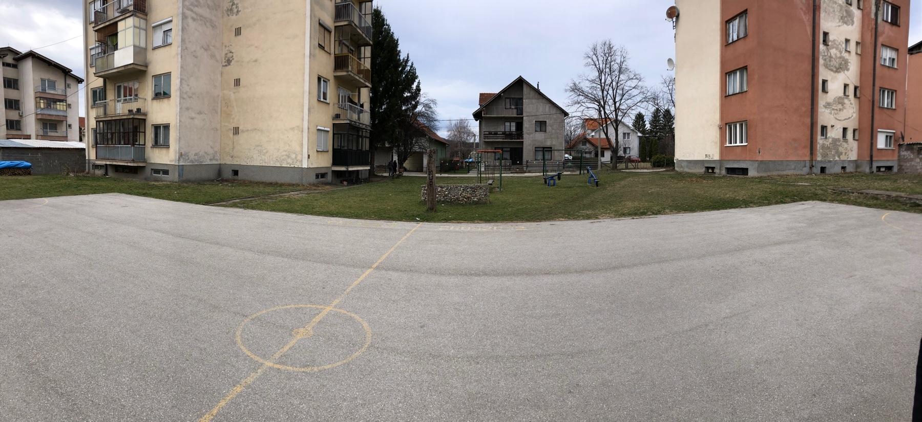 Saraj, teren, foto: M.M.