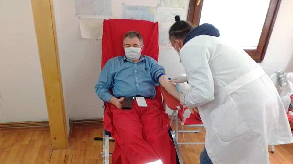 Akcija dobrovoljnog davanja krvi, foto: Crveni krst Svrljig, zvanična fb stranica