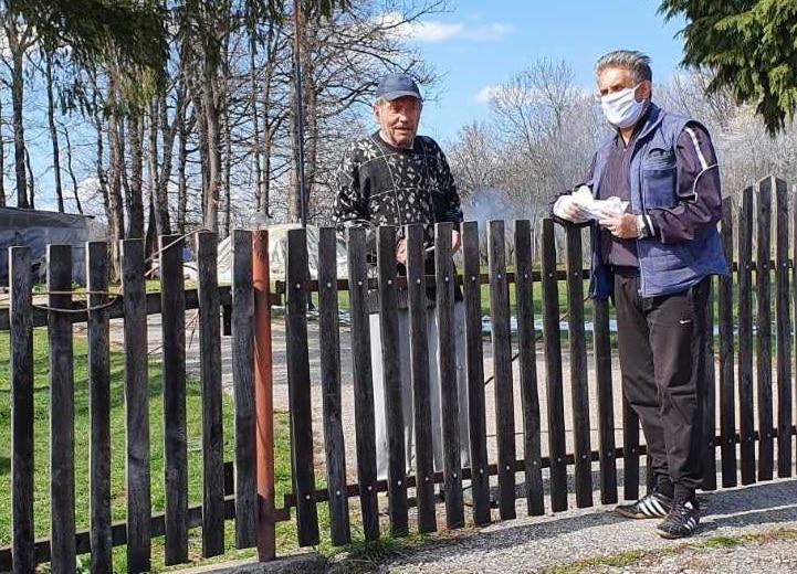 Miletić u poseti starijima, foto: M.M.