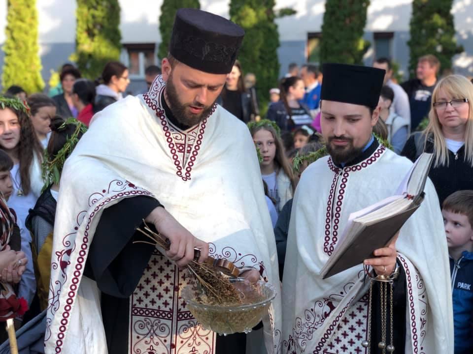 Svrljiški sveštenici, praznik Vrbica, foto: M.M.