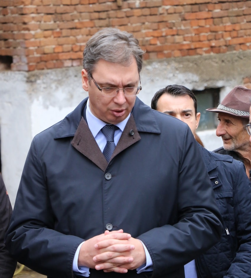 Predsednik Republike Srbije Aleksandar Vučić, foto: Svrljiške novine