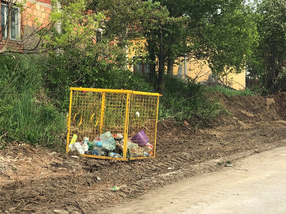 Očišćena mini deponija, foto: Svrljiške novine