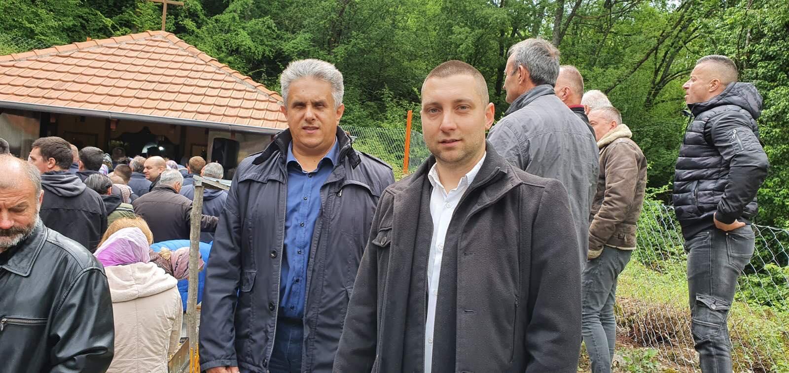 Narodni poslanik Milija Miletić i direktor CTKS Miroslav Marković, foto: M.M.