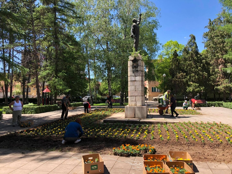 Gradski park, uređenje, foto: M.M.