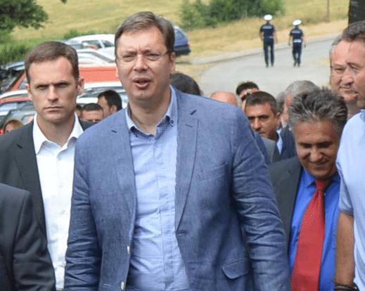 Vučić Aleksandar u poseti Leskovcu, foto: M.M.