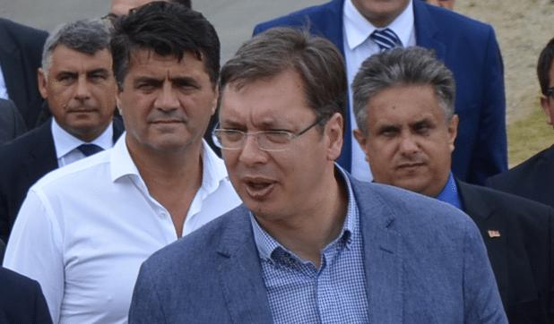 Aleksandar Vučić u poseti Leskovcu, foto: M.M.