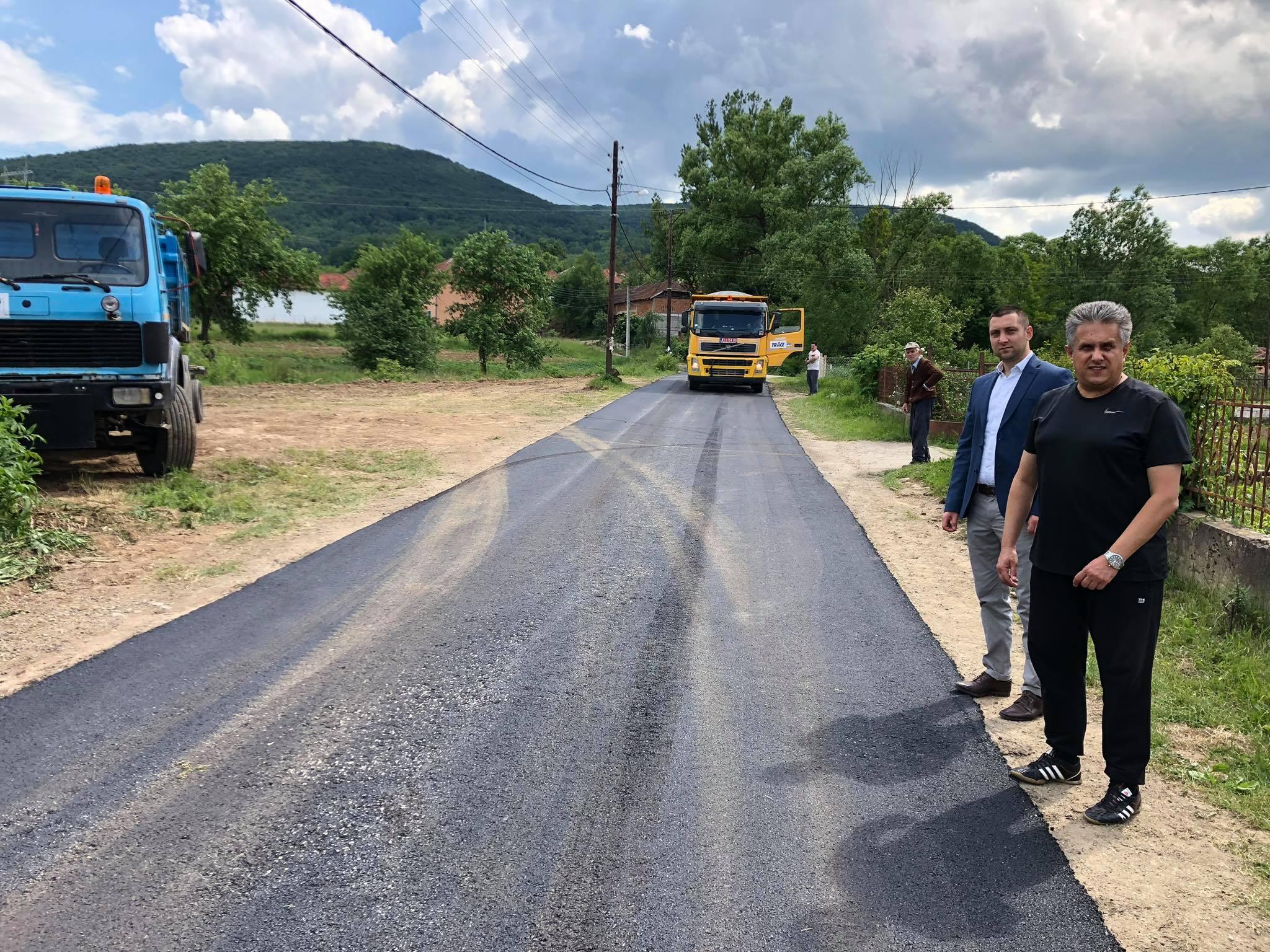 Izgradnja puta za selo Đurinac, foto: M.A.