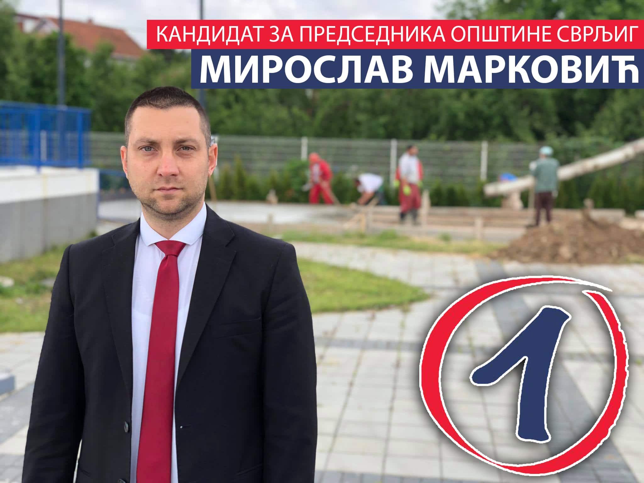 miroslav markovic kandidat