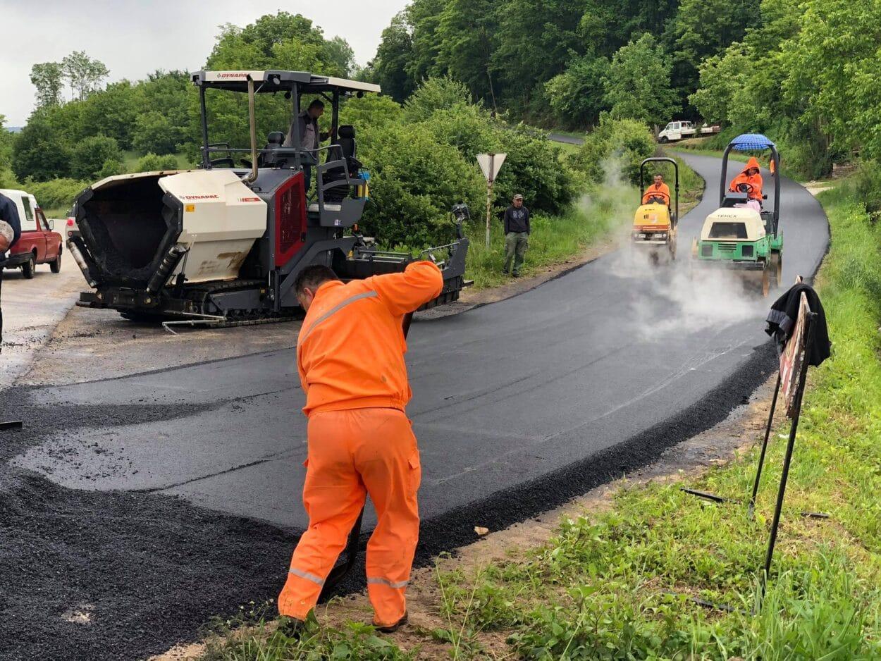 Izgradnja puta do Ribara, foto: M. Miladinović