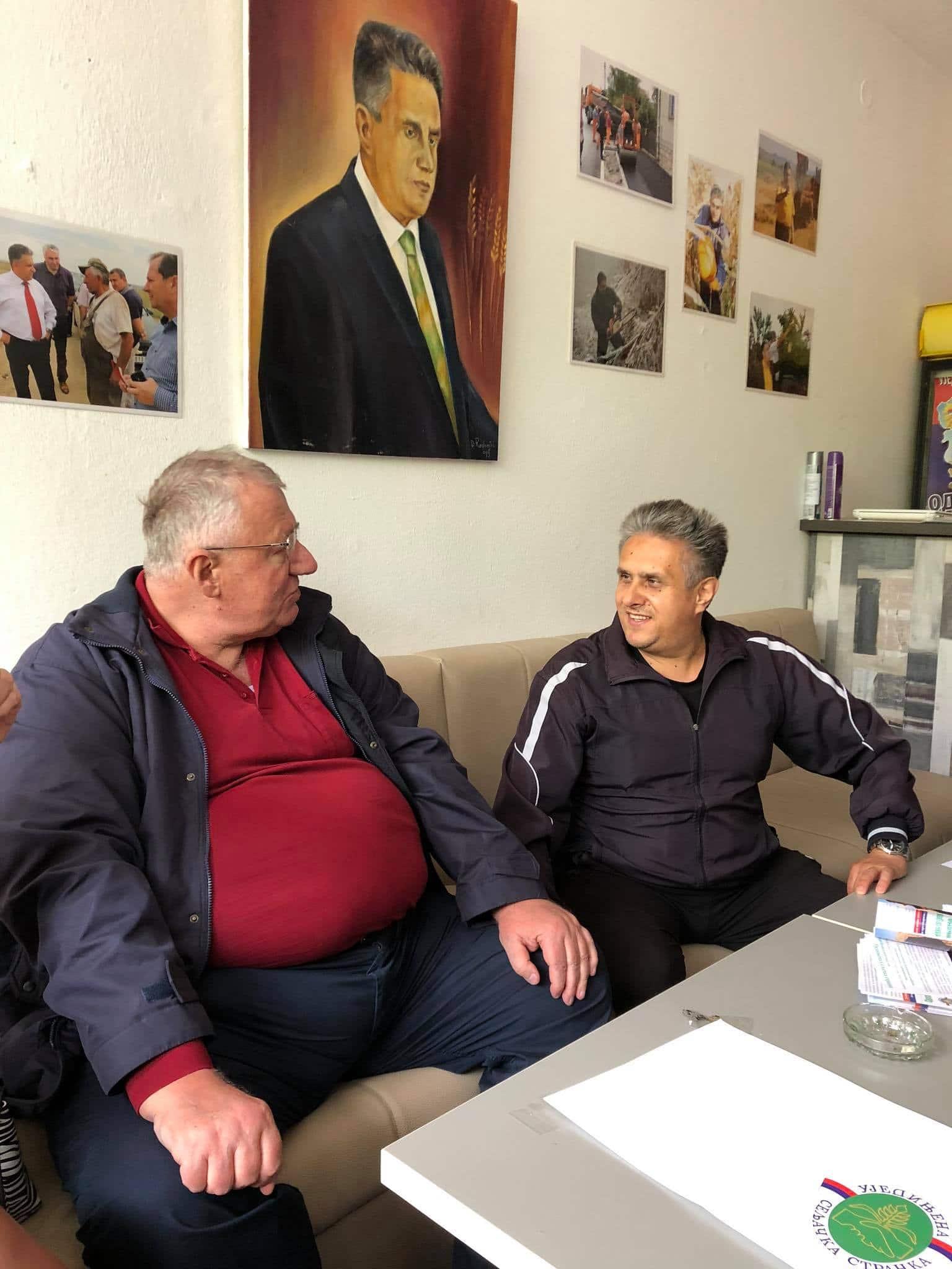 Šešelj i Miletić, foto: M. Miladinović
