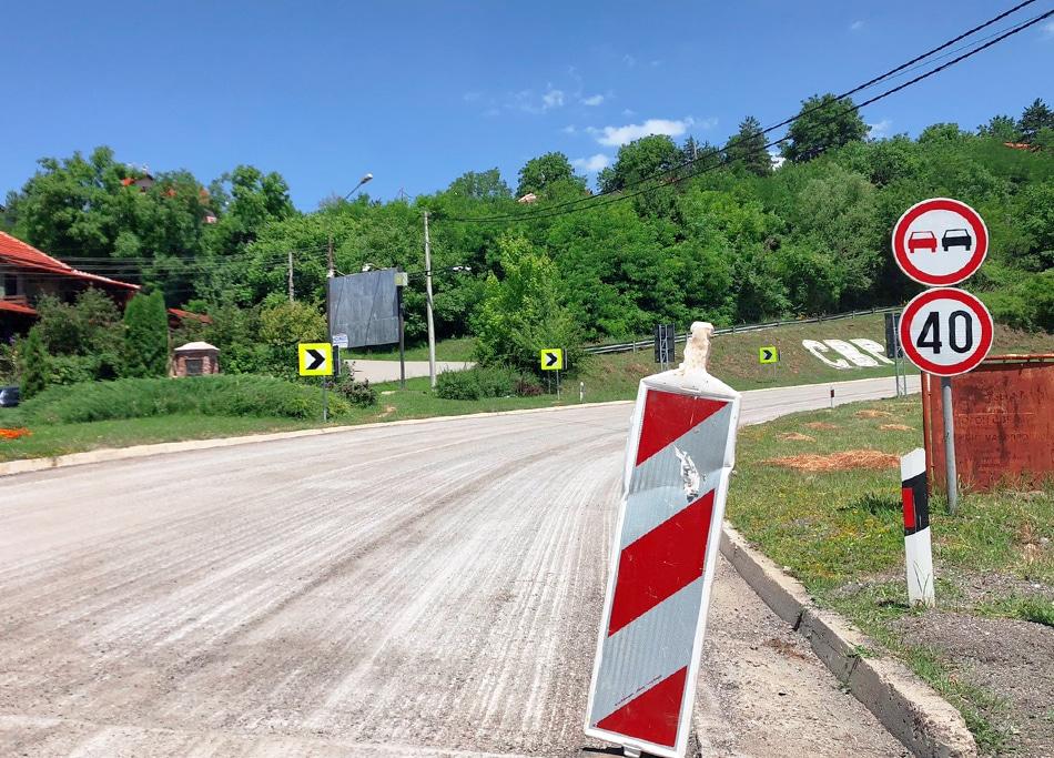 Rekonstrukcija puta prema Knjaževcu, foto: Redakcija