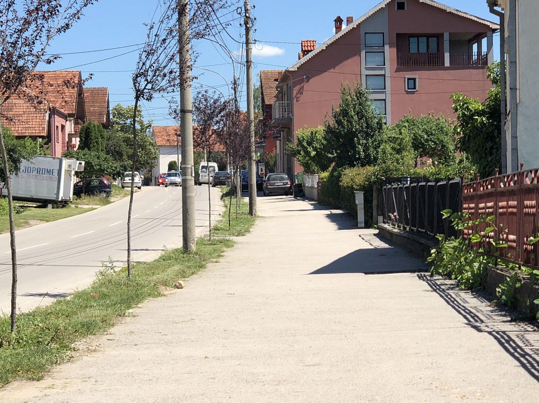Uređen zeleni pojas u ulici Vase Albanca