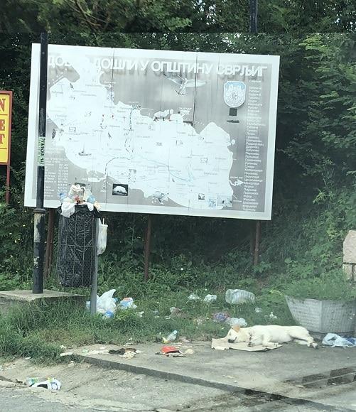 Smeće, prevoj Gramada, foto: M.A.