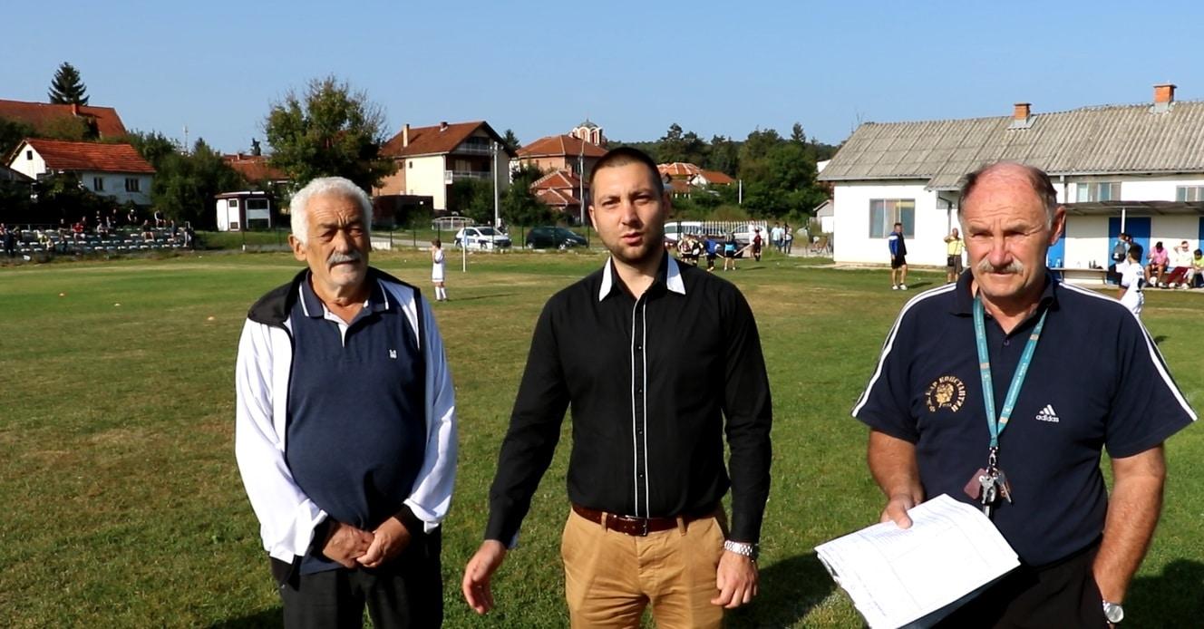 Predsednik opštine Miroslav Marković pozdravlja okupljene, foto: M.M.