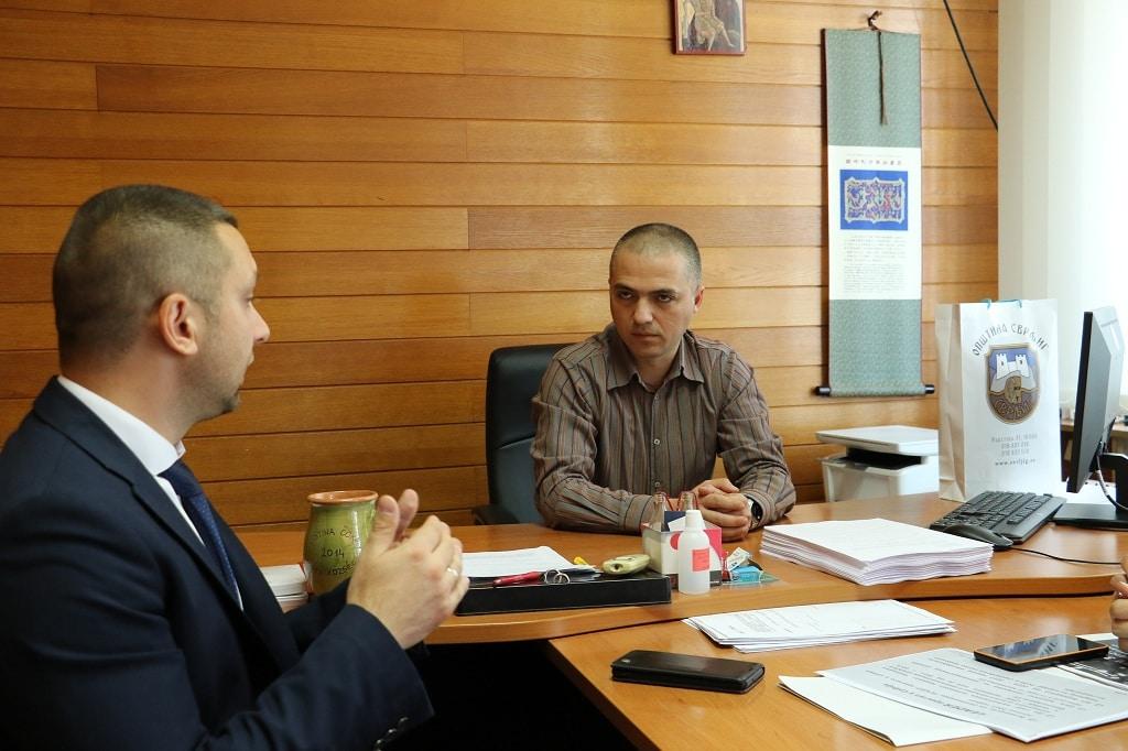 Predsednici Marković i Nikolić, foto: M.M. / Opština Svrljig