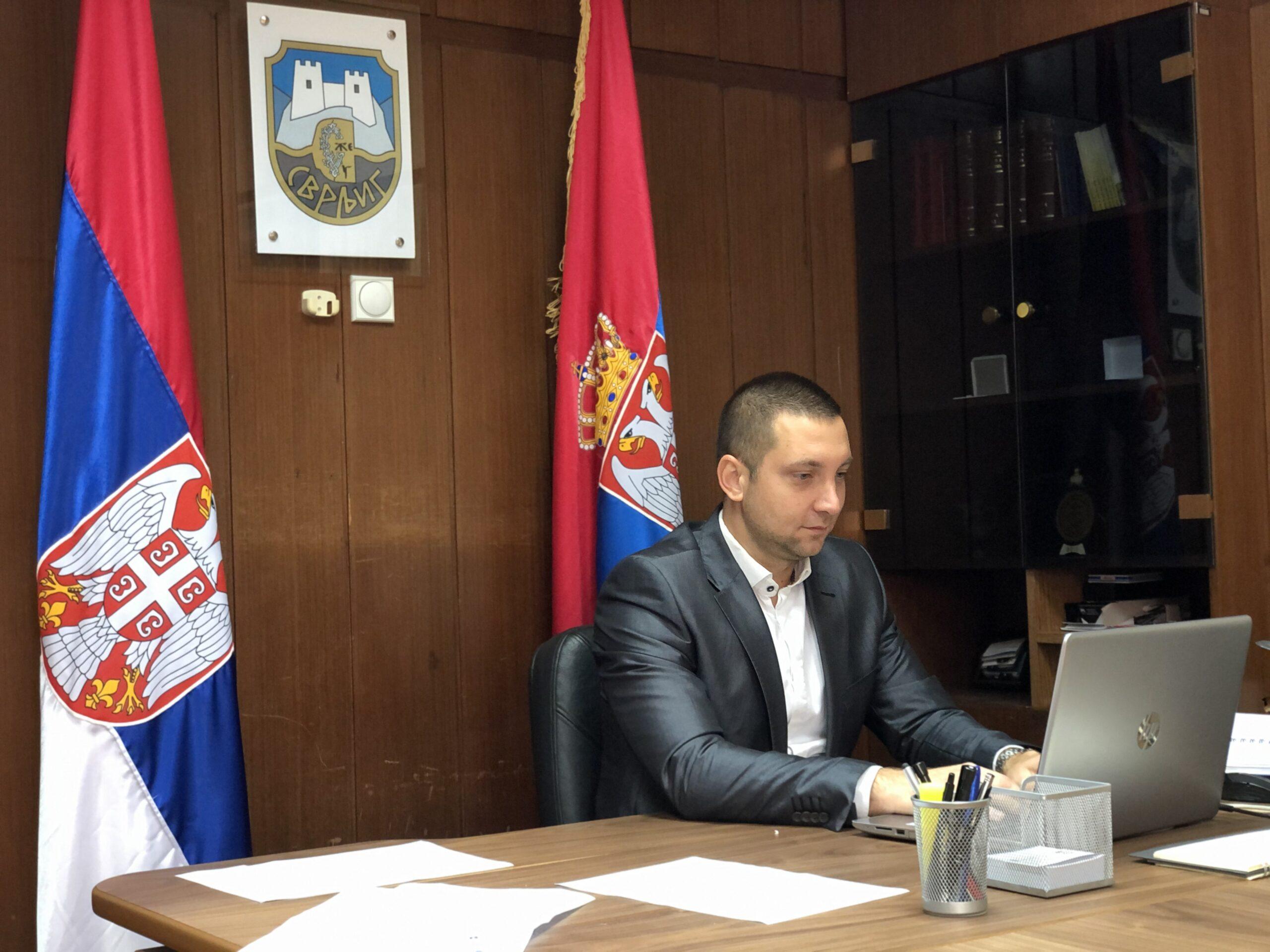 Predsednik opštine Miroslav Marković