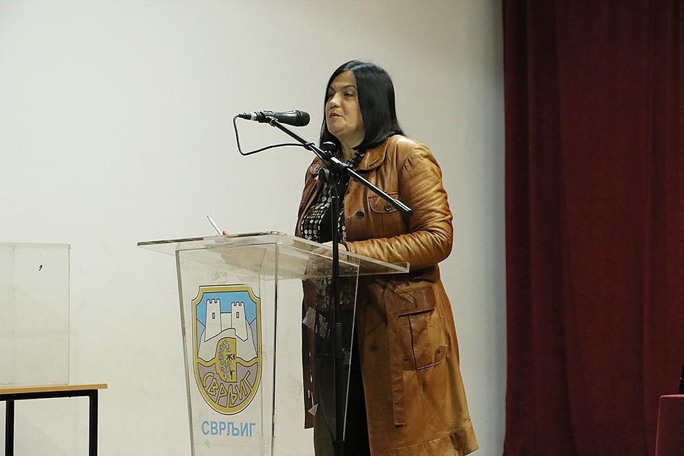 Marina Savić, načelnica Odeljenja za budžet i finansije Opštine Svrljig, foto: Svrljiške novine