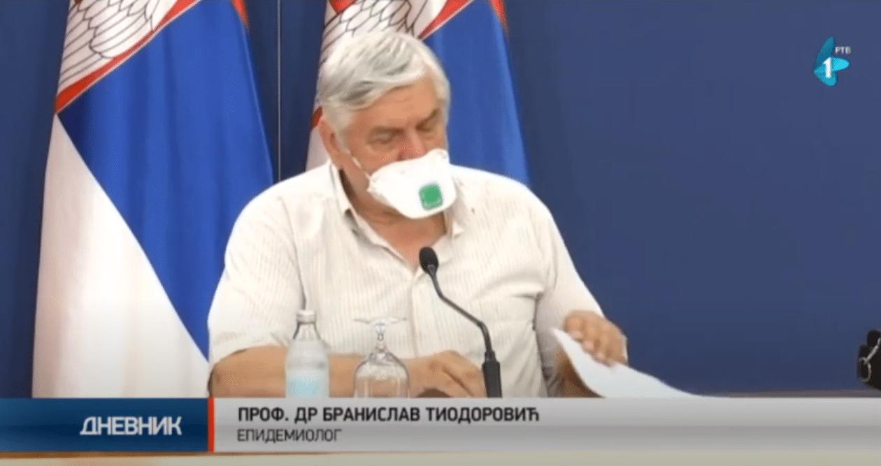 Tiodorović, foto: RTV, Dnevnik