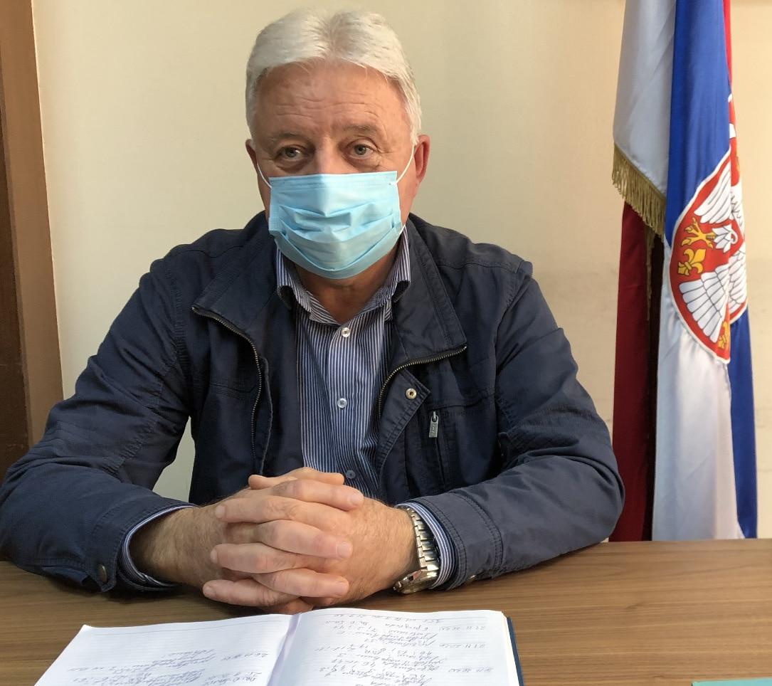 Doktor Ljutomir Davidović, direktor Doma zdravlja u Svrljigu