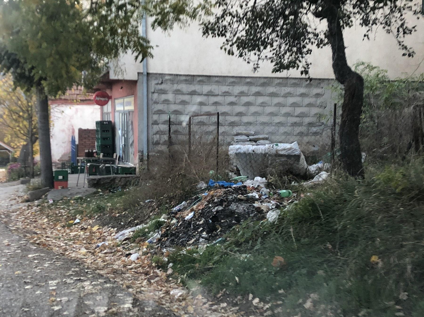 Deponija u samom selu Guševac, foto: D.M.