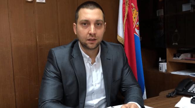 Predsednik opštine Miroslav Marković, foto: PrtScr, video prilog, preuzeto sa sajta Opštine Svrljig