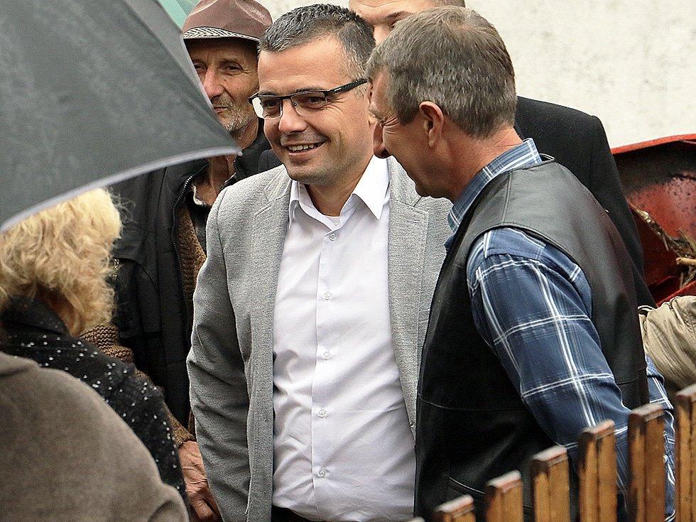 Nedimović u poseti Svrljigu, foto: Svrljiške novine