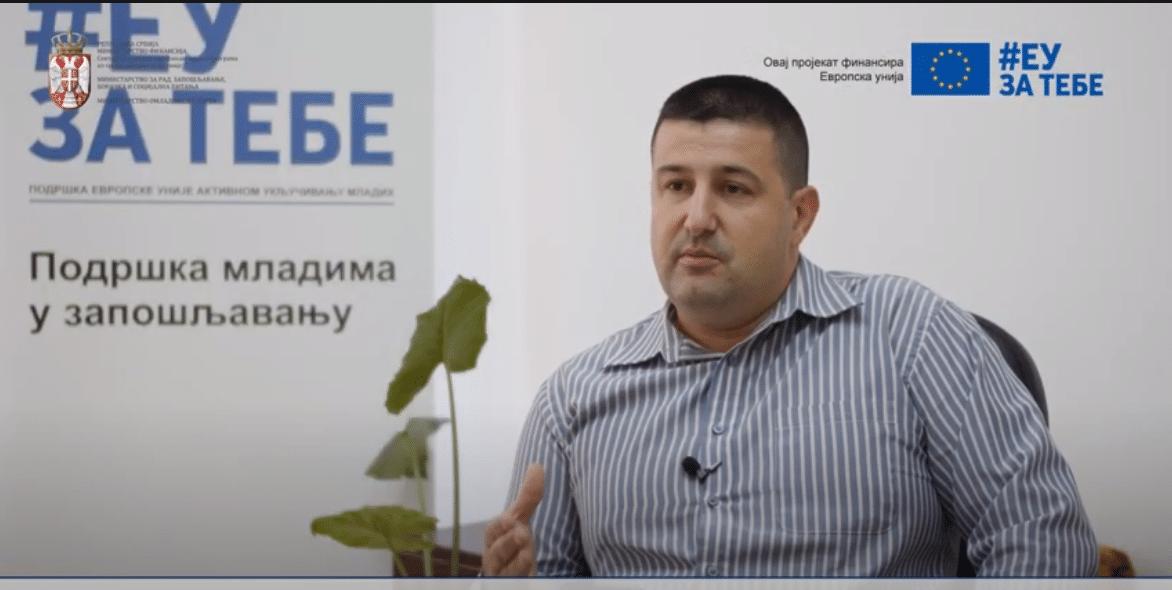Foto iz video priloga, preuzeta sa youtube kanala ,,Dostignuća mladih u Srbiji''