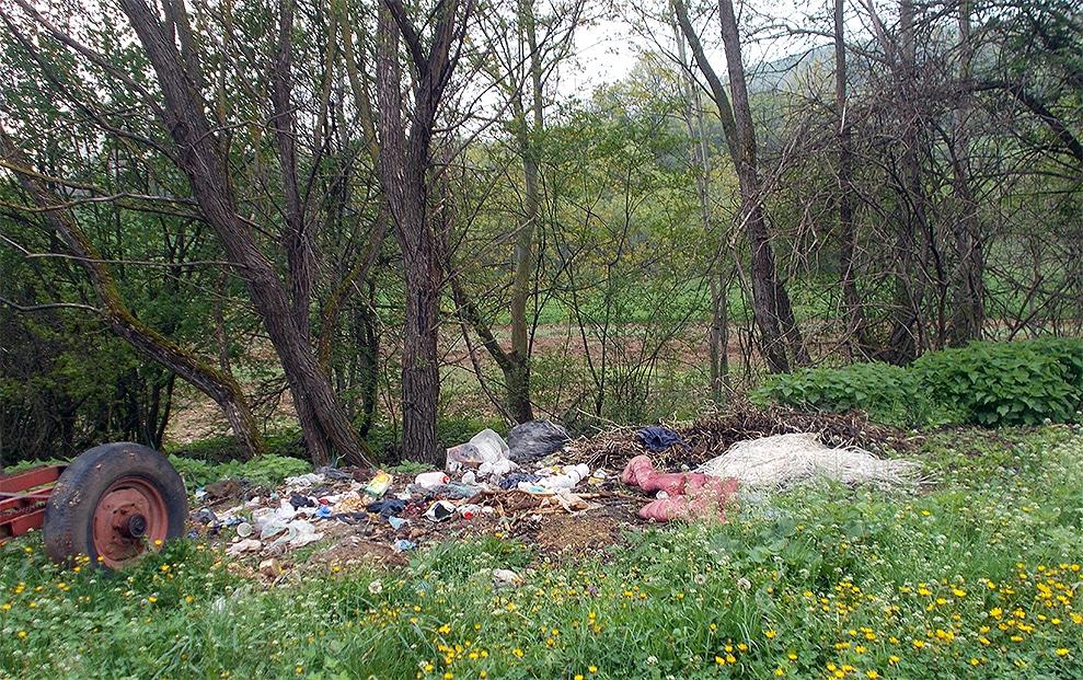 Deponija u Pirkovcu, foto: M.P.