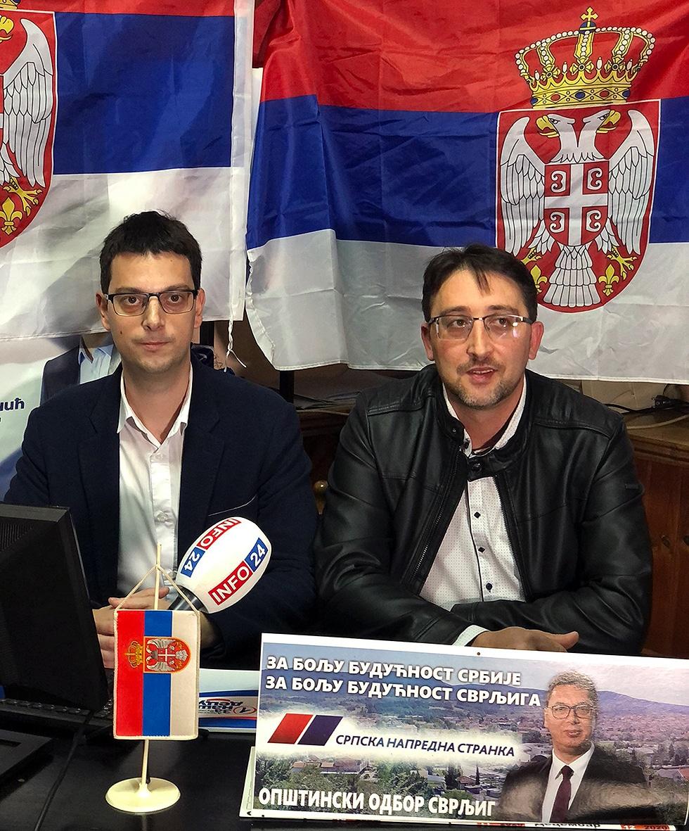 Milan Mihajlović i Igor Davidović, foto: Svrljiške novine