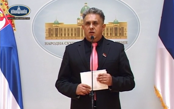 Miletić, foto: Parlament Srbije