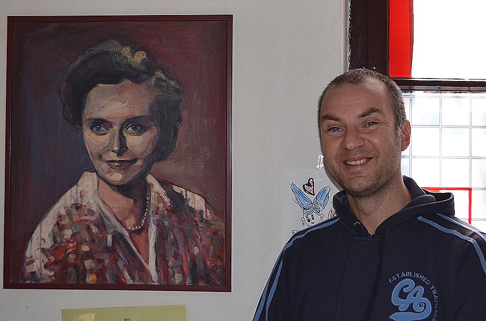 Miljan Milenković, foto: M. Stojadinović, Svrljiške novine