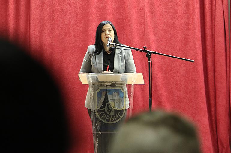 Marina Savić, načelnik Odseka za budžet i finansije opštine Svrljig