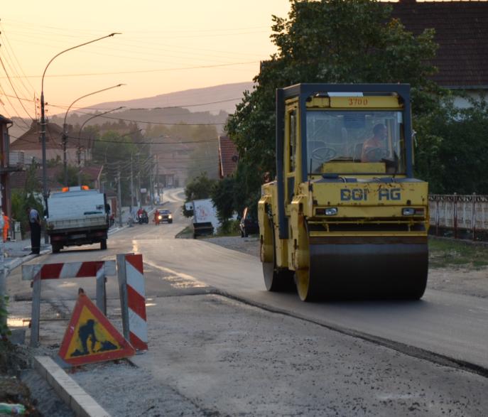 Rekonstrukcija ulice Vase Albanca, foto: Svrljiške novine