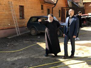 Predsednik Marković u poseti Manastiru, foto: Svrljiške novine