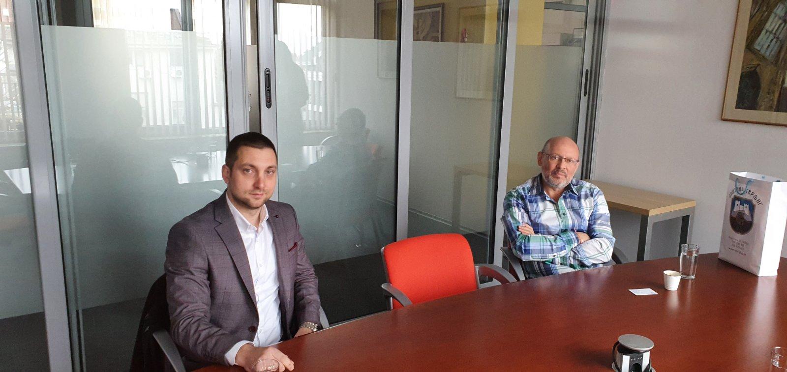 Radni sastanak u Sofiji, foto: M.M.