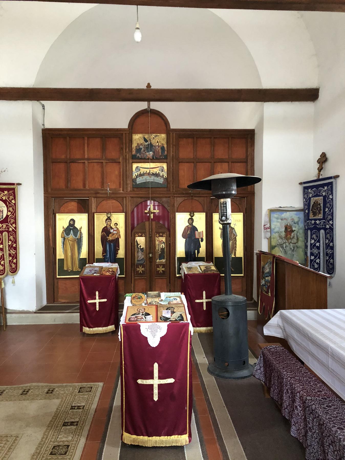 Unutrašnjost crkve Sv. Ilija, Niševac, foto: Svrljiške novine