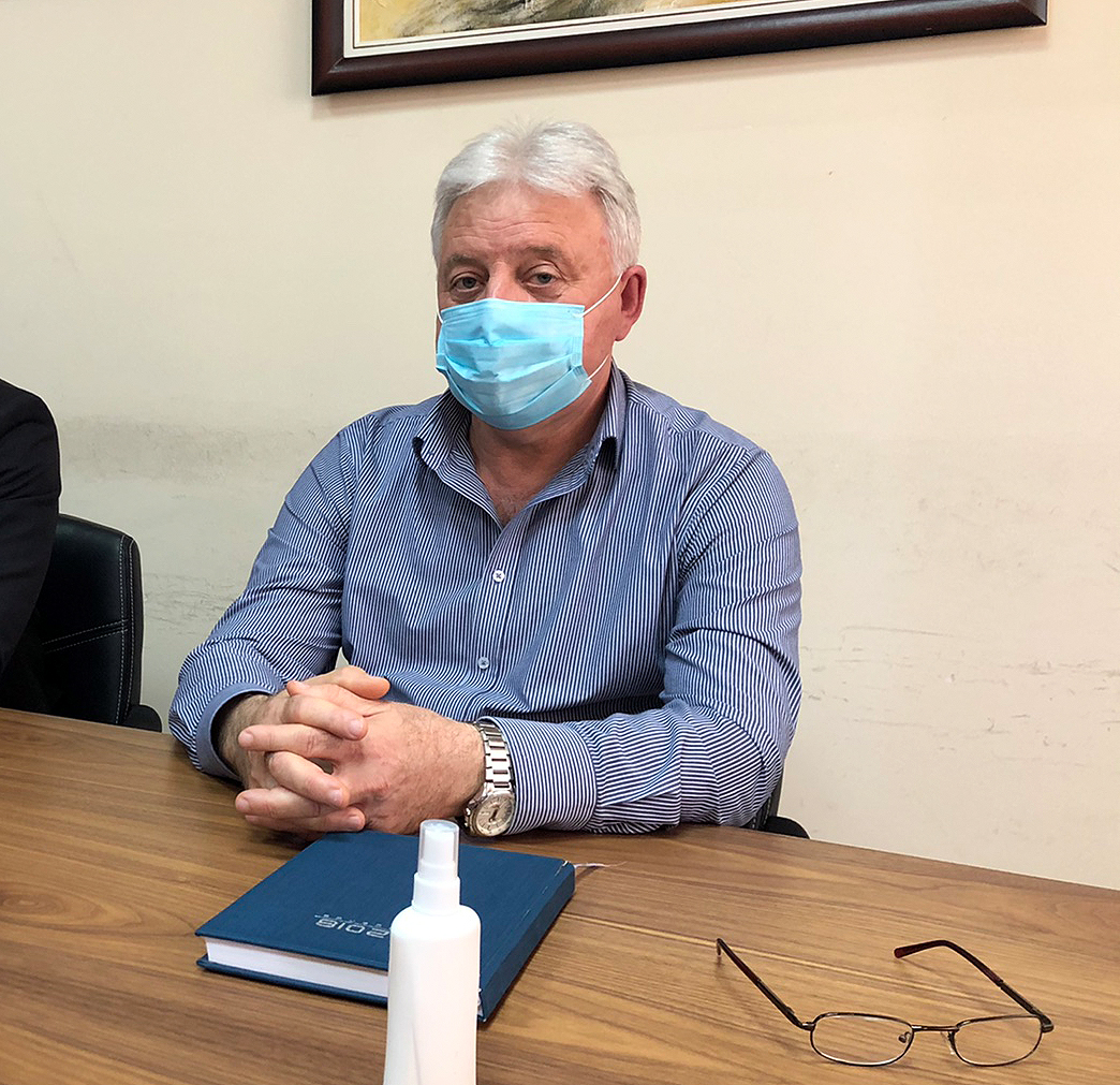 Doktor Ljutomir Davidović, aktuelni direktor Doma zdravlja u Svrljigu