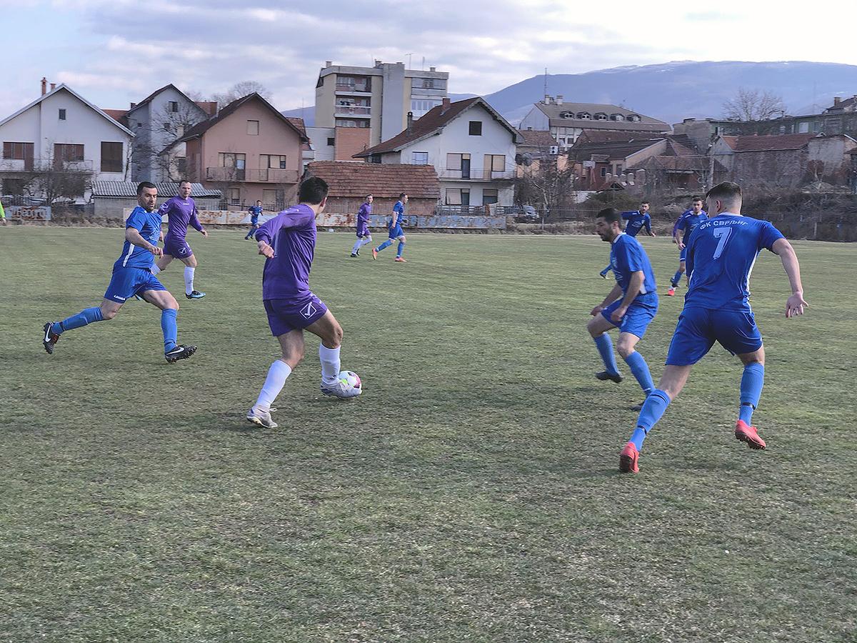 Fudbaleri FK ,,Svrljig'' u meču sa ekipom ,,Taskovići'', foto: Svrljiške novine