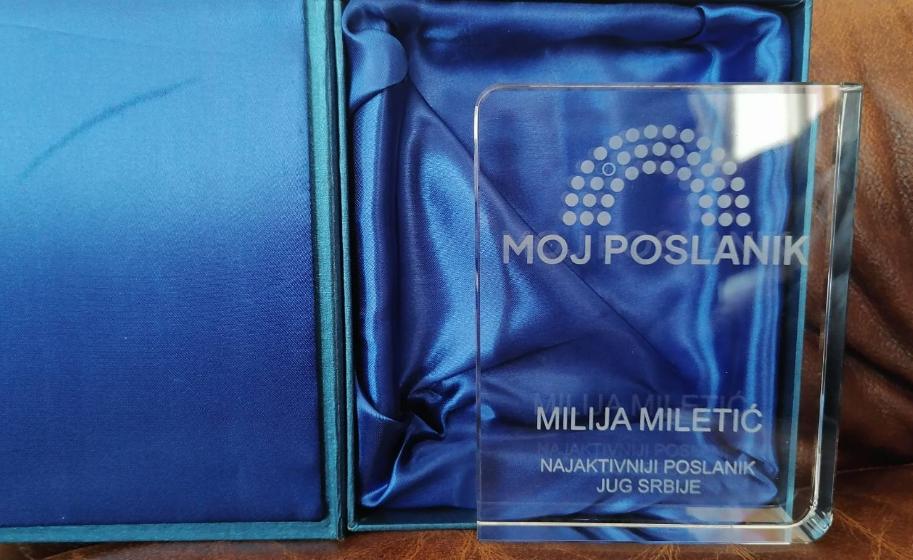 Narodni poslanik Milija Miletić, privatna arhiva