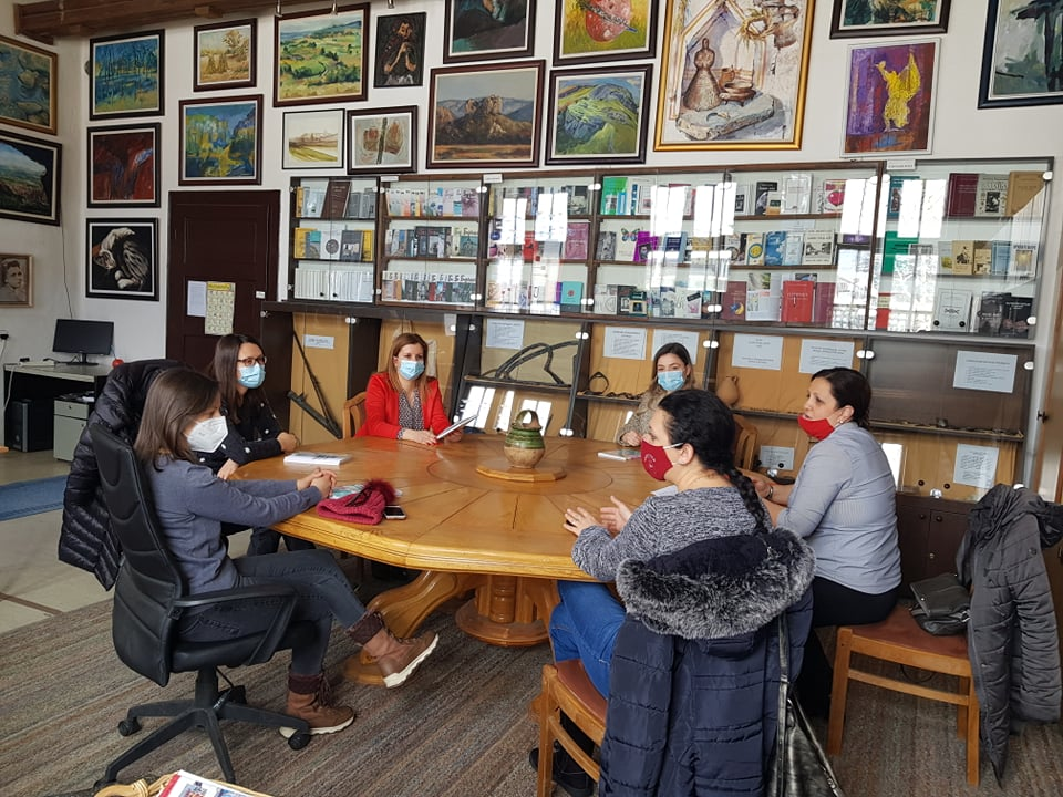 Sastanak u salonu Biblioteke, foto: CTKS
