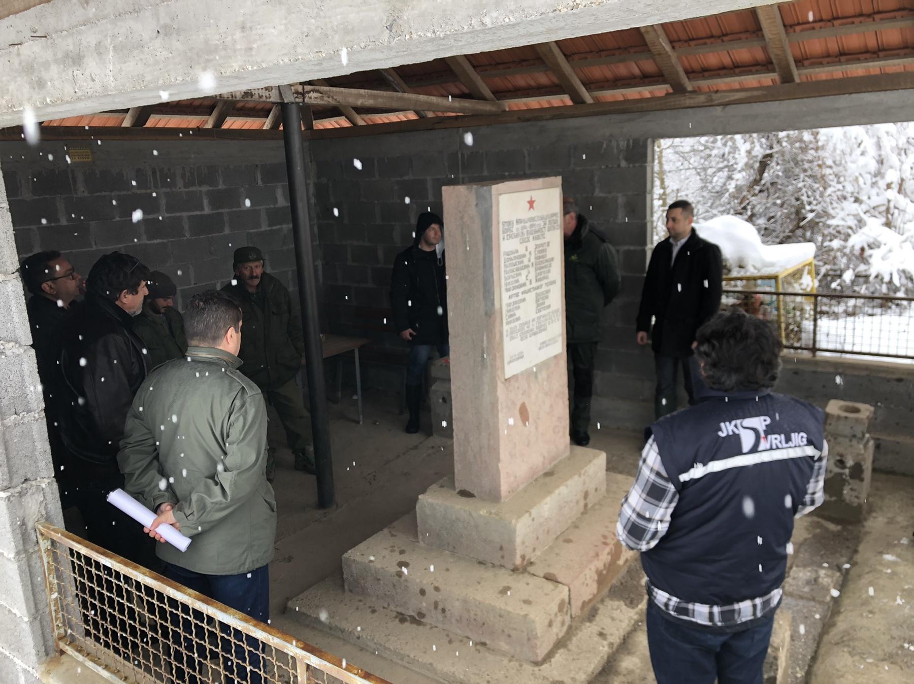 Sastanak sa predstavnicima ,,Srbijašume'', MZ Crnoljevica i opštine Svrljig, foto: M.M.