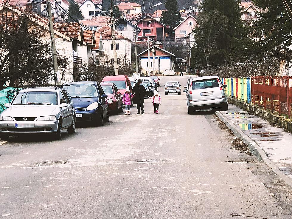 Ulica Gordane Todorović, foto: M.M.