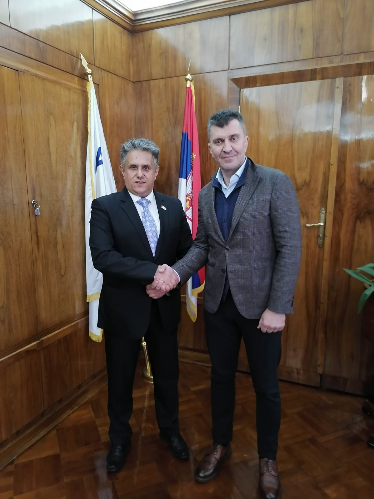 Miletić i Đorđević, foto: M.M.