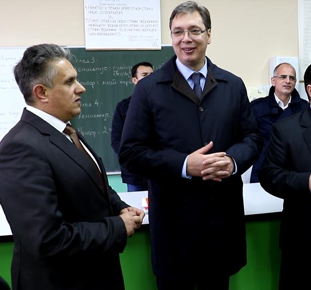 Predsednik Srbije u Svrljigu, foto: Svrljiške novine