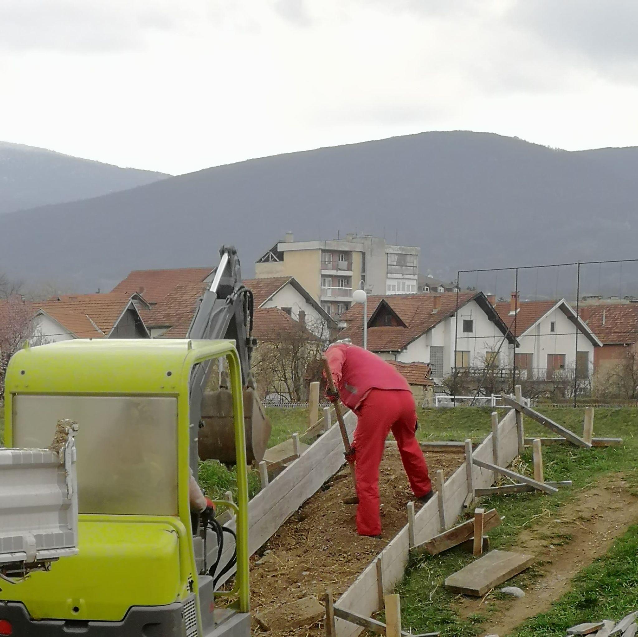 Radovi u toku, foto: G. M.