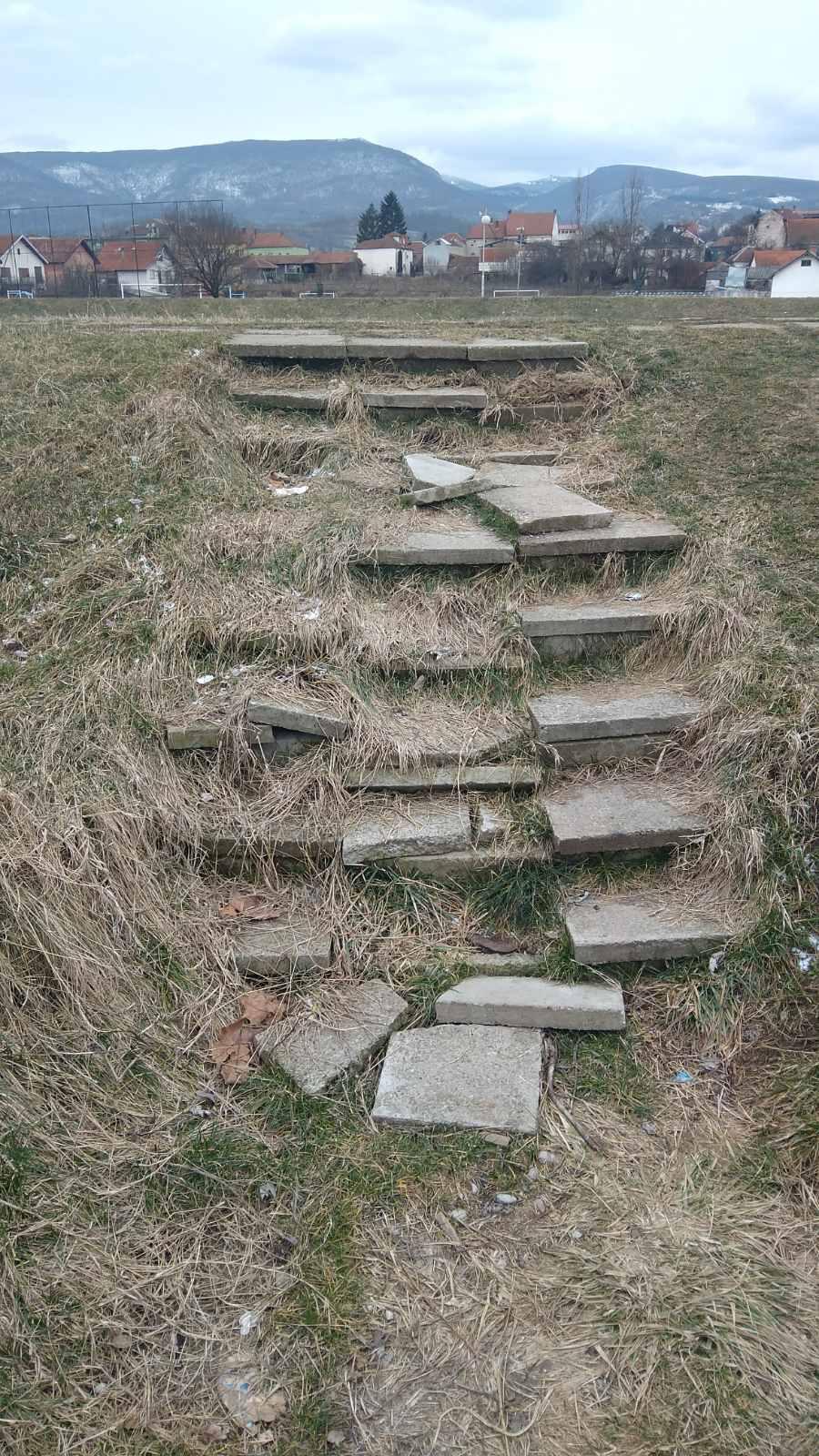 Izgled stepenica nekada, foto: M.M.