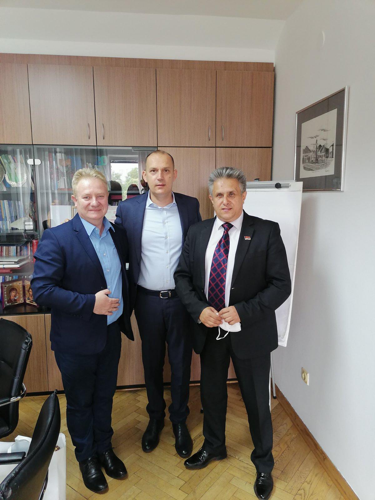 Antić, Lončar i Miletić, foto: M.M.